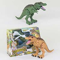 Динозавр 1013 А (24/2) 2 вида, с проектором, ходит, светятся глаза, звук, в коробке