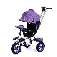 Велосипед Baby  Trike 3-х колёсный 6595Ф с ключем зажигания.