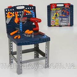 Детский Набор инструментов 661-74 в чемодане, стол, верстак