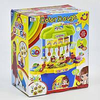 Тесто для лепки 008-99 (4) 5 баночек теста, тележка на колесах, аксессуары, в коробке
