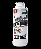 Моторное масло IPONE 10.3 SAE 10W30 (1л) для мотоциклов. JASO MA-2, API SL