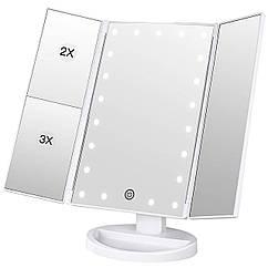 Зеркало для макияжа с LED подсветкой Superstar Magnifying Mirror RN 496, КОД: 1082378