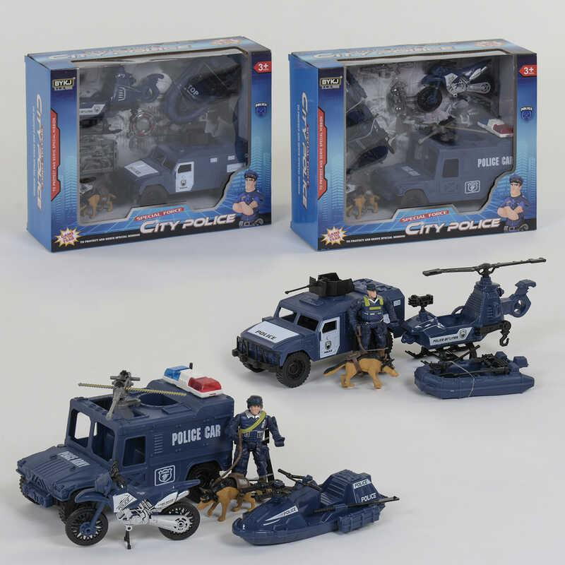 Полицейский набор 8836 А/ 8836 В (24) 2 вида, в коробке