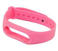 Ремешок для фитнес-браслета Xiaomi Mi Band 2, розовый, браслет на сяоми ми бенд 2