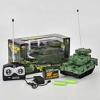 Танк на радиоуправлении 9344 Play Smart (36/3) стреляет пулями, на аккумуляторе 4.8V, 2 цвета, в коробке