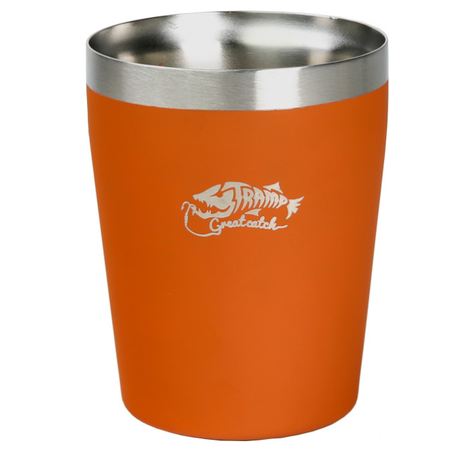 Термостакан металлический Tramp TRC-101 250мл Orange