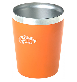 Термостакан металлический Tramp TRC-101 250мл Orange, фото 2
