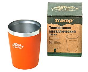 Термочашку металевий Tramp TRC-101 250мл Orange, фото 2