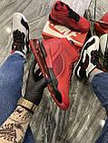 Кроссовки Nike Jordan Air Space 720 Red Black Кроссовки Найк Аир Джордан, фото 2