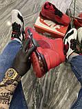 Кроссовки Nike Jordan Air Space 720 Red Black Кроссовки Найк Аир Джордан, фото 4