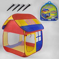 Палатка 905 M (8) Домик, 107х104х111 см, в сумке