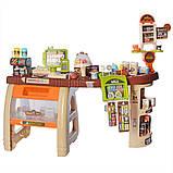 Детский супермаркет магазин  93-50-79 см звуковые и световые эффекты 65 предметов Bambi 668-68, фото 3