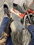 Кроссовки мужские Nike Air Force Luxury Suede Grey Кроссовки найк Найк мужские кроссовки, фото 3