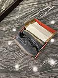 Кроссовки мужские Nike Air Force Luxury Suede Grey Кроссовки найк Найк мужские кроссовки, фото 9