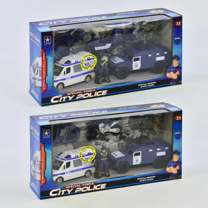 Полицейский набор 8831 В/8831 А (18) звук, свет, 2 вида, в коробке