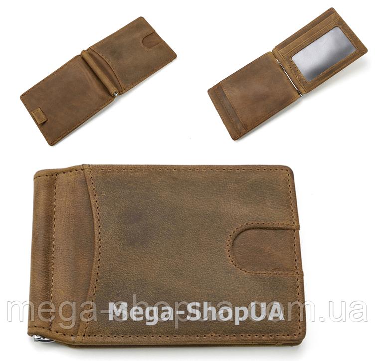 Мужской кожаный кошелек FR411124 Olive