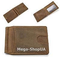 Мужской кожаный кошелек FR411124 Olive, фото 1