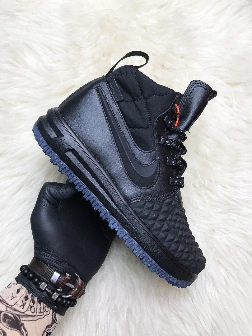 Кроссовки мужские Nike Lunar Force 1 Duckboot '17 Black Кроссовки найк Найк мужские ботинки