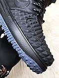 Кроссовки мужские Nike Lunar Force 1 Duckboot '17 Black Кроссовки найк Найк мужские ботинки, фото 4