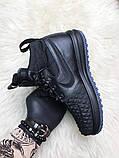 Кроссовки мужские Nike Lunar Force 1 Duckboot '17 Black Кроссовки найк Найк мужские ботинки, фото 5