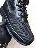 Кроссовки мужские Nike Lunar Force 1 Duckboot '17 Black Кроссовки найк Найк мужские ботинки, фото 6
