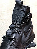 Кроссовки мужские Nike Lunar Force 1 Duckboot '17 Black Кроссовки найк Найк мужские ботинки, фото 9