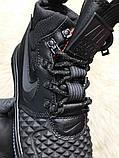 Кроссовки мужские Nike Lunar Force 1 Duckboot '17 Black Кроссовки найк Найк мужские ботинки, фото 10