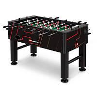 Настольный футбол игровой, профессиональный Evolution Black / Red для дома