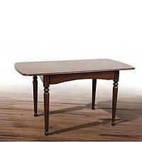 Стол обеденный раздвижной Поло (Темный орех) Микс Мебель