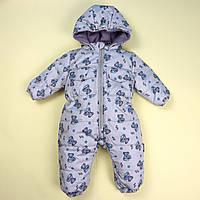 Комбинезон для мальчика Мишки тм Одягайко размер 80,86