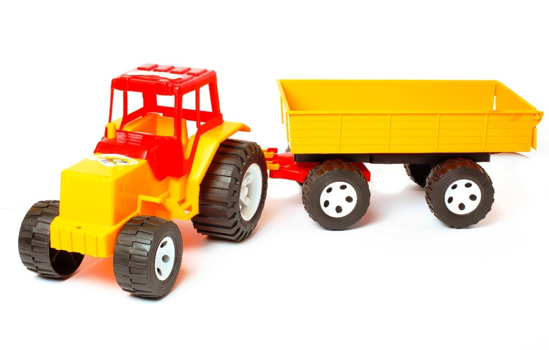 Трактор прицеп BAMSIC (007/4)