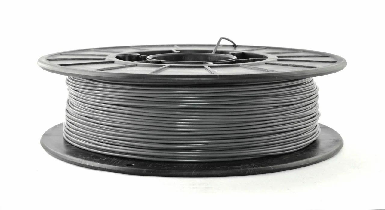 Нить PETG (CoPET, ПЕТГ) пластик для 3D печати, Серый (1.75 мм/0.5 кг)