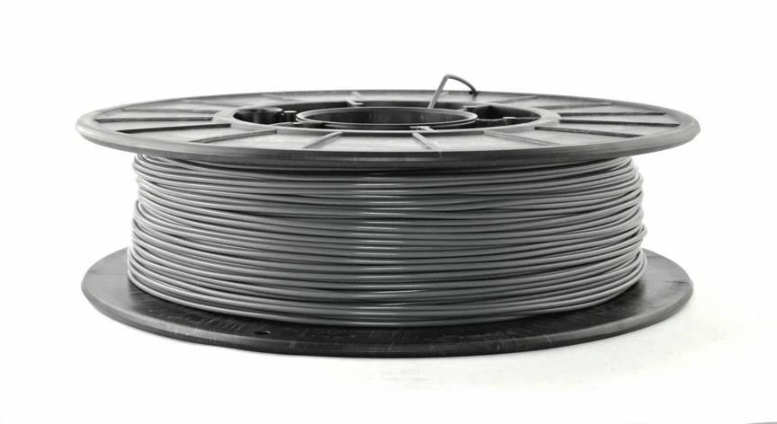 Нить PETG (CoPET, ПЕТГ) пластик для 3D печати, Серый (1.75 мм/0.5 кг), фото 2