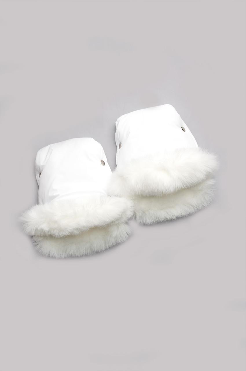 Рукавички для мамы на коляску (мех кролик)