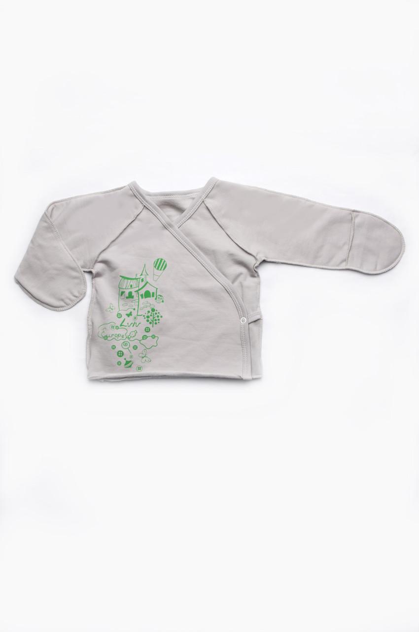 Дитяча сорочечка для новонароджених (унісекс)