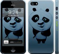 """Чехол на iPhone 5s Кунг-фу Панда """"759c-21"""""""