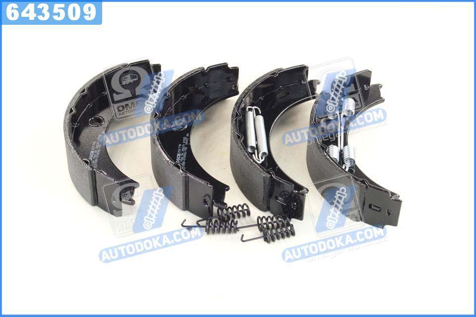Колодки тормозные барабанные MERCEDES-BENZ SPRINTER,VW LT 28-35 II (производство  Bosch)