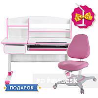 Комплект для девочек👸 парта Cubby Rimu Pink+детское кресло FunDesk Primavera I Pink, фото 1