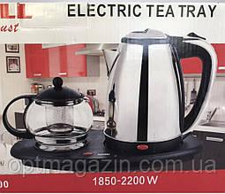 Чайник електричний з чайничком для заварки чаю TEAFAELL TF-200 1850W