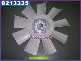 Крыльчатка вентилятора ЯМЗ 238НБ,238АК (9 лопастей, пластик, универсальная) производство  Украина  238НБ-1308012-Б2