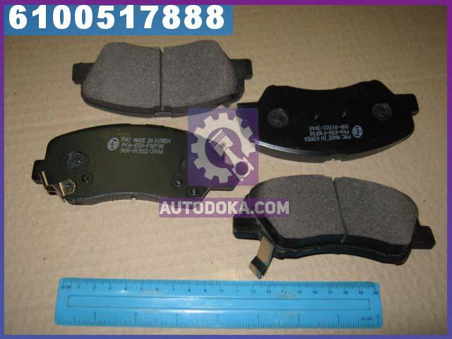 Колодки тормозные дисковые (производство  PARTS-MALL)  PKA-E50