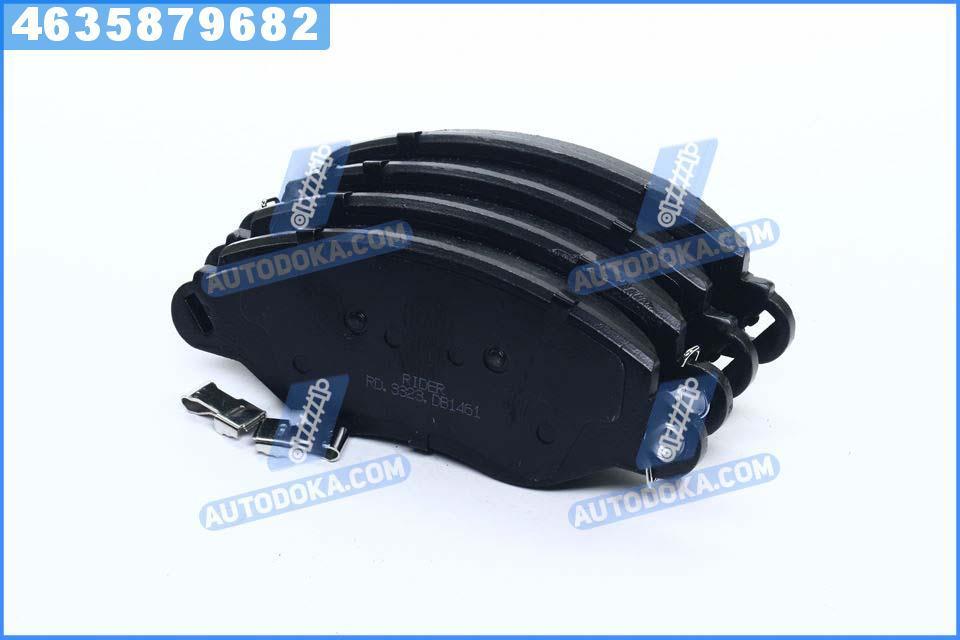 Колодки тормозные дисковые ФОРД TRANSIT 00-06 передние (RIDER)  RD.3323.DB1461