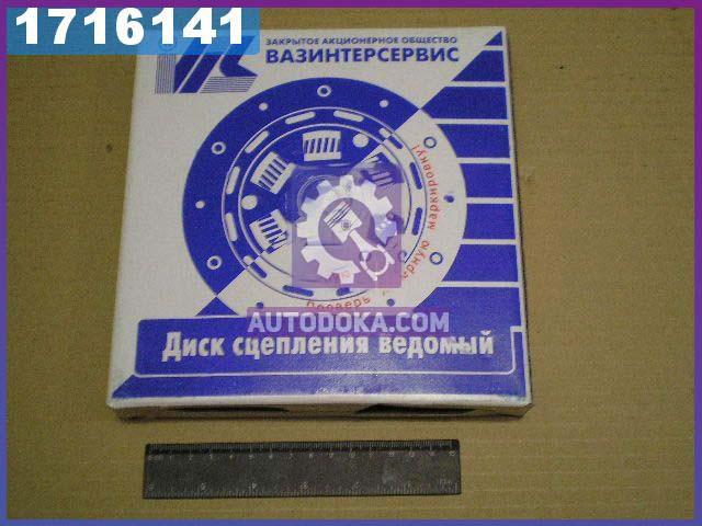 Диск сцепления ведомый ВАЗ 2107 (усиленый) (производство  ВИС)  21076-160113000