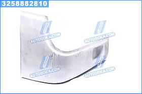 Буфер бампера Богдан 092 передній правий (ікло) білий RAL 9003 (Дорожня Карта) А092-2803032-9003ДК