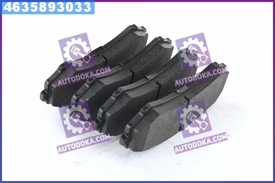 Колодки тормозные дисковые МИТСУБИШИ PAJERO/GRANDIS передние (RIDER)  RD.3323.DB3246