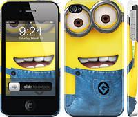 "Чехол на iPhone 4s Миньоны 7 ""859c-12"""