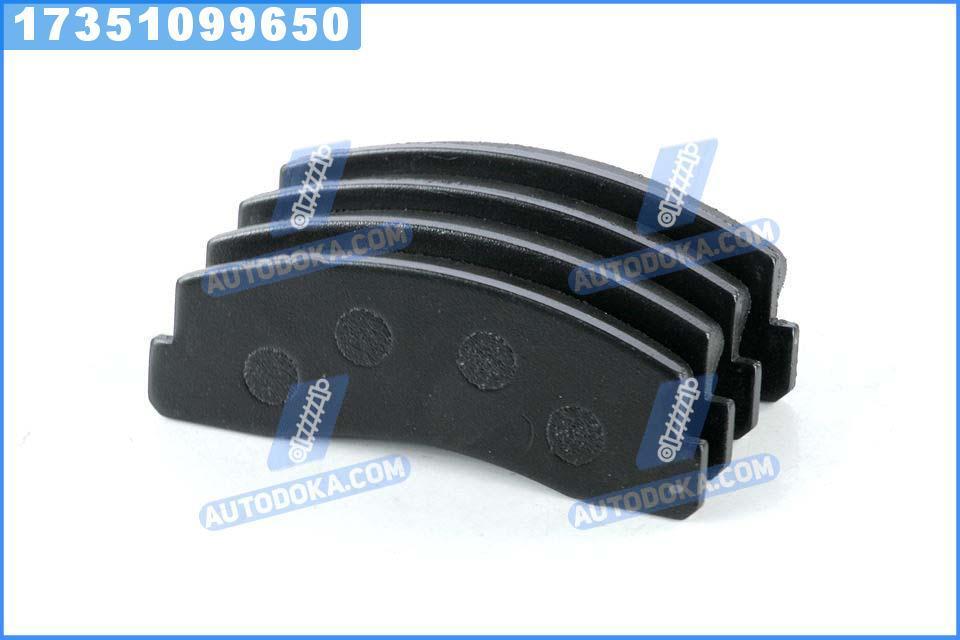 Колодки тормозные ВАЗ 2121 передние STANDARD (RIDER)  2121-3501090