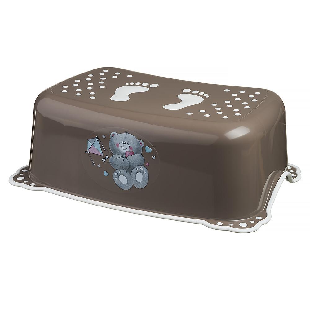 Подставка Maltex Bear 4095 нескользящая  brown with white rubbers