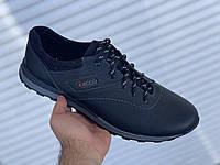 Мужские кроссовки из натуральной кожи, обувь больших размеров БФ 4