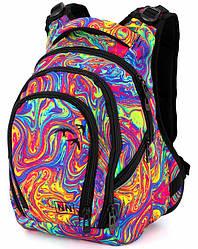 Рюкзак ортопедический школьный подростковый для девочки  яркий Winner One 244D